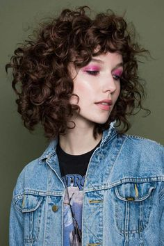 Curly Shag from Refinery29