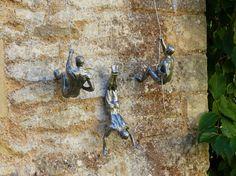 Klettern Männer Wandkunst
