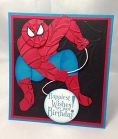 Spiderman - Punchart by didlet - Cards and Paper Crafts at Splitcoaststampers
