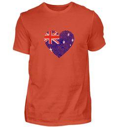 Herz DNS DNA Wurzeln Australien T-Shirt Basic Shirts, Dna, Mens Tops, Fashion, Roots, Finland, New Zealand, Heart, Switzerland