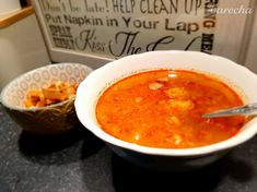 Cesnačka - recept | Varecha.sk Helping Cleaning, Thai Red Curry, Eat, Ethnic Recipes, Food, Essen, Meals, Yemek, Eten