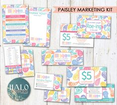 LuLaRoe Cards Paisley - business cards, thank you cards, size cards, care cards by HALOdesignsSHOP on Etsy https://www.etsy.com/listing/467135855/lularoe-cards-paisley-business-cards