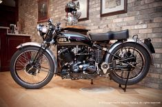 According to Herb Harris, a properly restored Vincent motorcycle will never lose value.