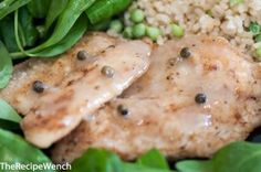 Pan Fried Tilapia with Green Peppercorns