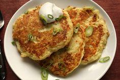 Irish potato pancakes.