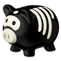 Skeleton Piggy Bank:  Target?  Walmart?