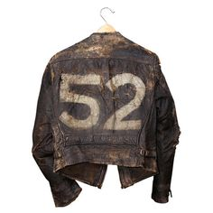 The must have vintage leather jacket in and out of the closet. Vintage Biker, Vintage Leather Jacket, Leather Men, Distressed Leather, Leather Jackets, Vintage Denim, Vintage Clothing, Biker Wear, Motorbike Jackets