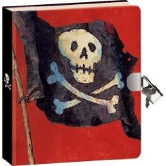 Pirate Lock & Key Diary by Peaceable Kingdom Press. $9.99. Keep thoughts, treasures and secrets recorded to always be remembered. Safely keep these adventurous remembrances under lock and key. Write or draw on the 240 colorful lined pages. For ages 5 years and older. Printed with vegetable based inks on recycled papers. Diaries are for dreaming! Children love a locked book where they can record their private musings, their dreams, their thoughts, - even their doodl...