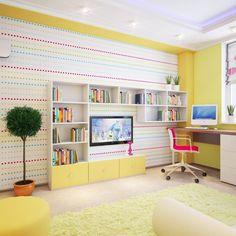 Детская комната - Дизайн интерьеров | Идеи вашего дома | Lodgers