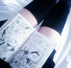 Imagem de manga, grunge, and sailor moon