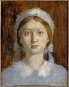 Marguerite De Gas (1842-1895), soeur de l'artiste, plus tard Madame Henri Fèvre