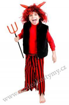 ČERT ČERVENÝ dětský kostým
