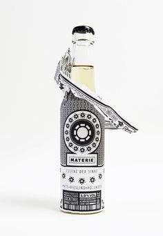 Materie Wine Cocktail | #packaging #bottledesign #wine