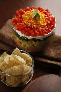 Chalupa Dip is a version of a classic layered dip.