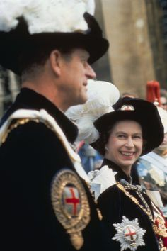 Queen Elizabeth and Prince Philip's royal romance in photos Queen Elizabeth II steals a glance at Prince Philip at a garter ceremony at Windsor Castle in Elizabeth Philip, Princess Elizabeth, Queen Elizabeth Ii, Kate Middleton, George Vi, Prinz Philip, Die Queen, Reine Victoria, Victoria Reign