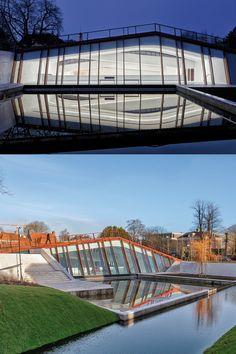 Architecture: Erick van Egeraat, Rotterdam/NL | Facade Systems: VISS Basic TV and Jansen-Economy 50 EW60 | Manufacturer: Jansen AG, CH-Oberriet Building Systems, Rotterdam, Museum, Sustainability, Steel, Museums