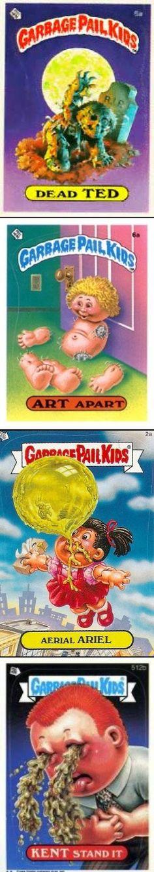 Garbage Pail Kids Mini Cards 2013 Base Card 92b SHAD Ow