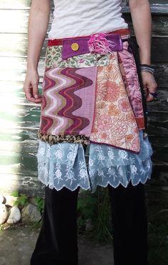 patchwork wrap skirt   www.highlandfairy.co.uk