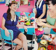 1950s Inspired Bridal Shower Theme // Hostess with the Mostess®