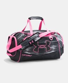 Under Armour Gym Duffel Bag Practically brand new. Price is firm on this- it's still being sold on UA's website for full price. Under Armour Bags Under Armour Backpack, Nike Under Armour, Under Armour Shoes, Pink Duffle Bag, Duffel Bags, Diaper Bag, Under Armour Outfits, Luggage Bags, Fashion Bags
