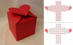 Make a valentine box Diy Gift Box, Diy Box, Diy Gifts, Diy Envelope, Envelope Design, Cardboard Box Crafts, Paper Crafts, Diy Paper, Presents For Mum