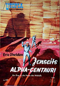 Utopia Grossband 119   #Pulp #Cover #Hefte #Groschenhefte #SciFi #ScienceFiction #Books #Buch