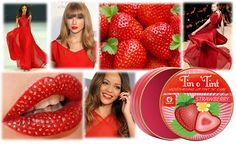Fresh, fruity and classically British, NEW Tin o' Tint in Strawberry will leave lips feeling soft, smooth and with a hint of soft red tint.
