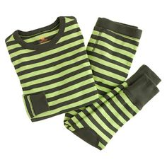 Boys' Skinny Stripe Sleep Set, $48   J.Crew