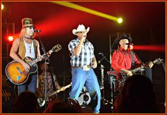 BIG & RICH with Cowboy Troy at the Apache Gold Pavilion concert on November 7, 2015.