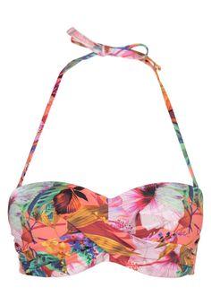 Cyell THYRSA - Bikini-Top - tropical coral - Zalando.de