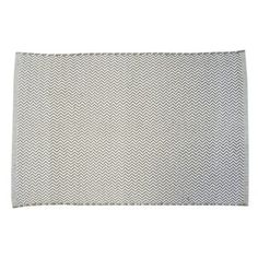 Le Noir & Blanc Chevron badmat paloma, alles voor je klus om je huis & tuin te verfraaien vind je bij KARWEI