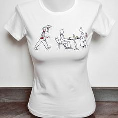 T-Shirt Donna A Romantic Dinner by Tuo tua