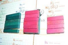 a+b al cuadrado con regletas