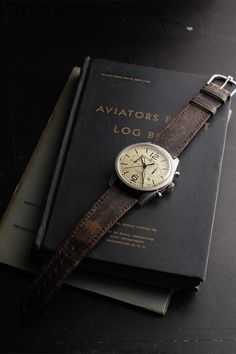 Bell and Ross Vintage Heritage Watch  UGH I LOVE THIS