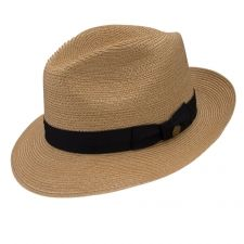 44f72d056a7 Check out the deal on Stetson Tate Hemp Braid Fedora at DelMonico Hatter