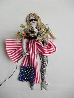 stumpwork | MAKE | Stumpwork Portrait of Lady Gaga