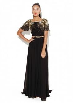 LOVE WANT! Raylene Black Dress