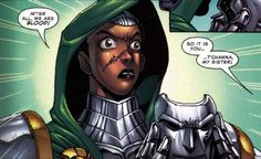 Doom T'chana (Black Panther's sister from Marvel's Mangaverse issue #3 2003.