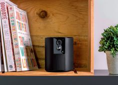 Look at this beautiful all-in-one home security device! The Somfy One fits in every house and keeps you safe - I want it now!!!