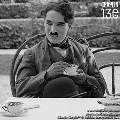 """A cup of tea with guests to Chaplin Studios during production of """"The Bond"""", August Charlie Chaplin, Edna Purviance, New Music Albums, Richard Attenborough, Charles Spencer Chaplin, Douglas Fairbanks, Mary Pickford, Next Film, Bad Memories"""