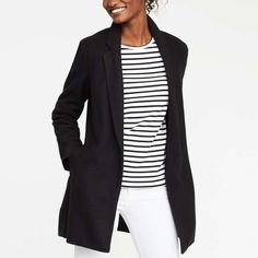 Rank & Style - Old Navy Wool-Blend Everyday Coat For Women #rankandstyle