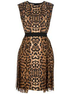 GIAMBATTISTA VALLI - Leopard print is so in this fall!