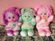 Magic Nursery Pets were part of a larger series of toys (mainly doll and their accessories) and were produced by Mattel in the late 1980's to early 1990's.