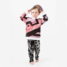 Dress the next generation of artists in Chocolate Einstein Kids' screen-printed abstract separates. #etsykids