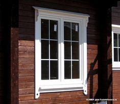 New Wood House Structure Doors Ideas Front Windows, Windows And Doors, Cottage Windows, Exterior Trim, Home Reno, House In The Woods, Art Deco, Inspiration, Windows