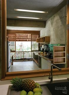 House architecture styles dream homes small spaces 61 ideas for 2019 Interior Exterior, Kitchen Interior, Kitchen Walls, Kitchen Cabinets, Interior Design, House Architecture Styles, Thai House, Bali, Small Terrace