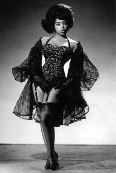 15 Unsung Vintage Black Pinup Models | Black Girl with Long Hair