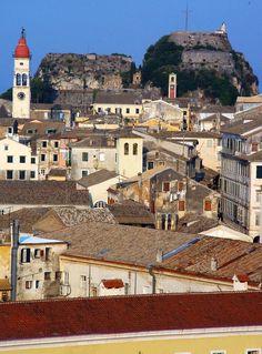 Old Town, Corfu, Greece Albania, Corfu Town, Corfu Greece, Heritage Center, Future Travel, List, World Heritage Sites, Old Town, Paris Skyline