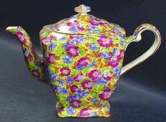 Royal Chintz Tea Pot