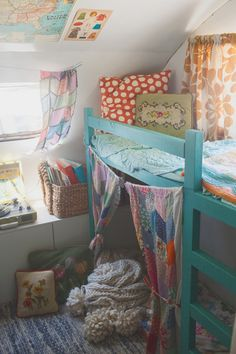 like the idea of a simple loft bed and adding the other touches without spending a fortune on it